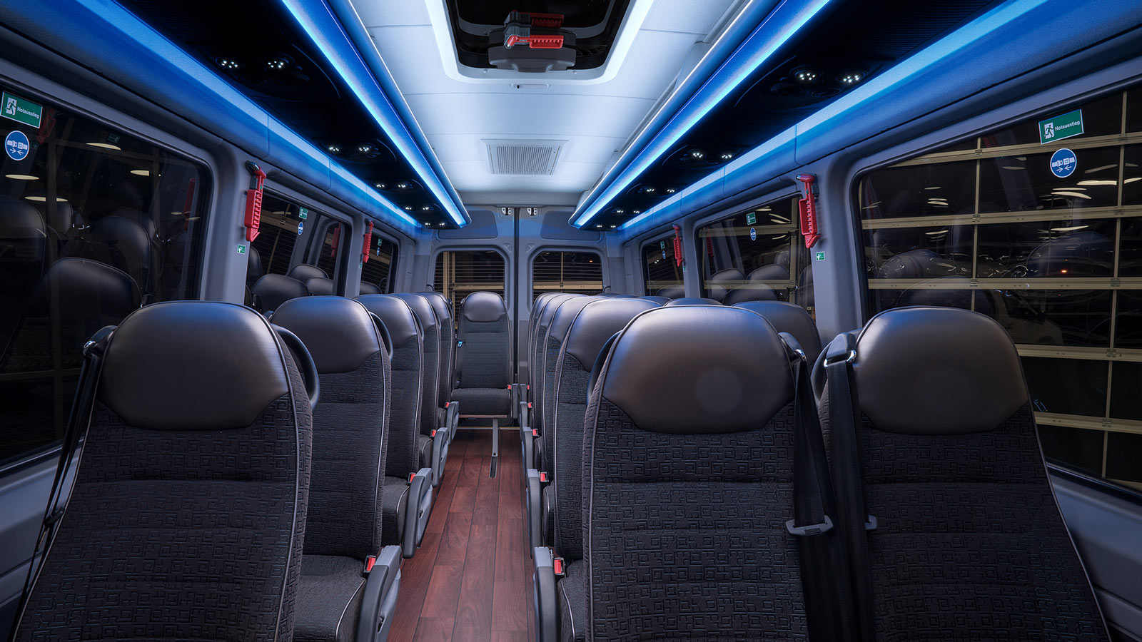 MAN BMC - Crafter Interieur Fotografie MAN Bus Modification Center