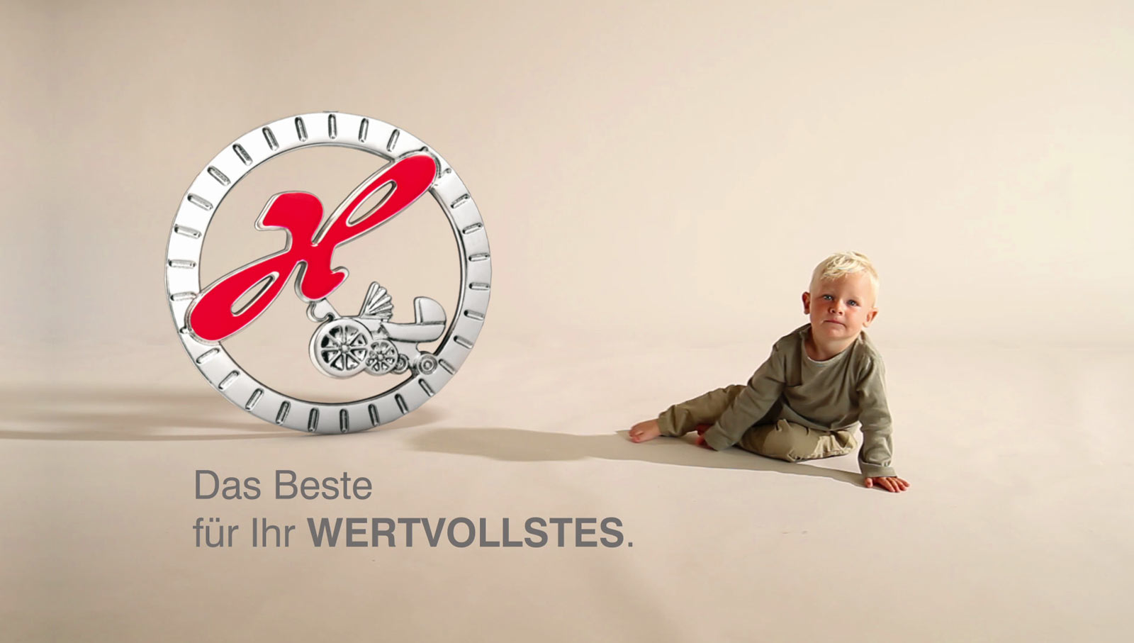 Hartan Kinderwagen Produktion Produktvideo - Logo Animation Hartan Kinderwagen